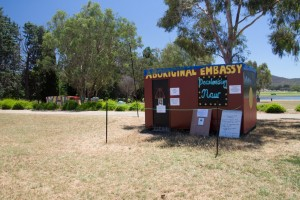 Aboriginal Embassy in Canberra
