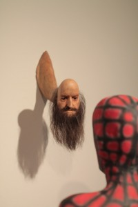 A strange sculpture at Sydney's Museum of Contemporary Art