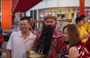 A man with a beard, in Malacca