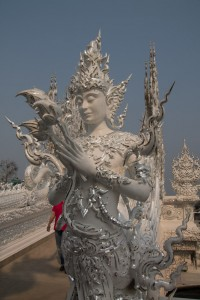 A White Temple sculpture