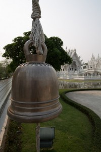 A bell. I like taking pictures of them