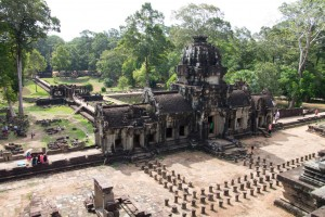 View from Banteay Kdei