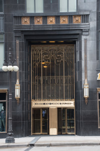 One of many gorgeous Art Deco buildings