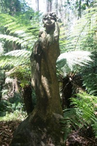 William Ricketts sculpture in the Dandenong Ranges