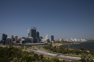 Perth view from King's Park