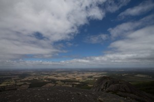 View from the top of Devil's Slide, Parongurup NP