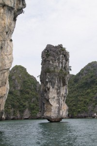 Halong Bay pinnacle