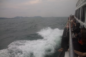 The view from the cheap seats - Koh Tao to Chumphon