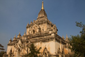 One of Bagan's many pagodas