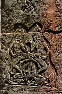 Bas Relief at Angkor