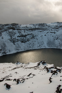 A volcanic crater at Kerio