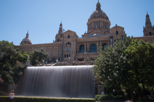 Waterfall at Montjuic